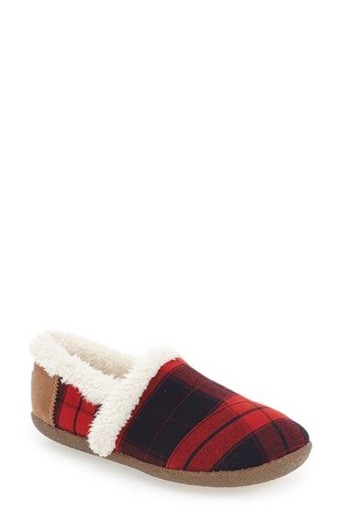 Free shipping and returns on TOMS Multi Stripe Slipper (Women) at Nordstrom.com. A favorite casual slip-on is recast as a brightly patterned slipper with supersoft faux-fur lining and a textured rubber sole for quick trips outside.