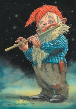 Flute players are used in the spring to crack the ice. The best ones are not usually seen again.