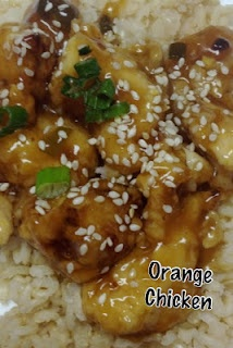 orange chicken ~My Recipe Book~: Main Dishes