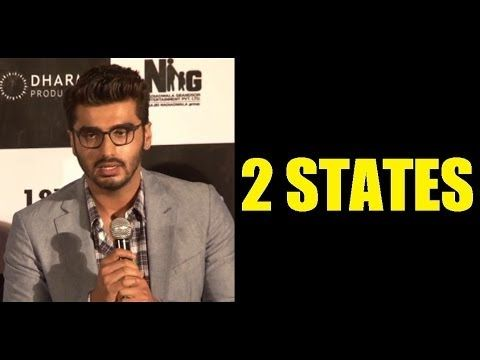 Arjun Kapoor @ 2 STATES THEATRICAL TRAILER LAUNCH.
