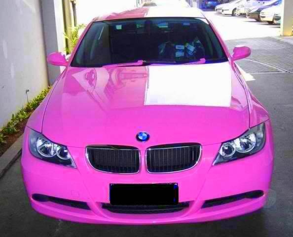 Pink BMW for my baby girl.