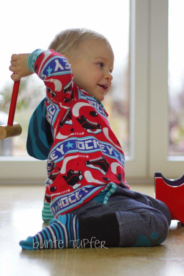 Nähbeispiel lillestoff » Hockey Rock «