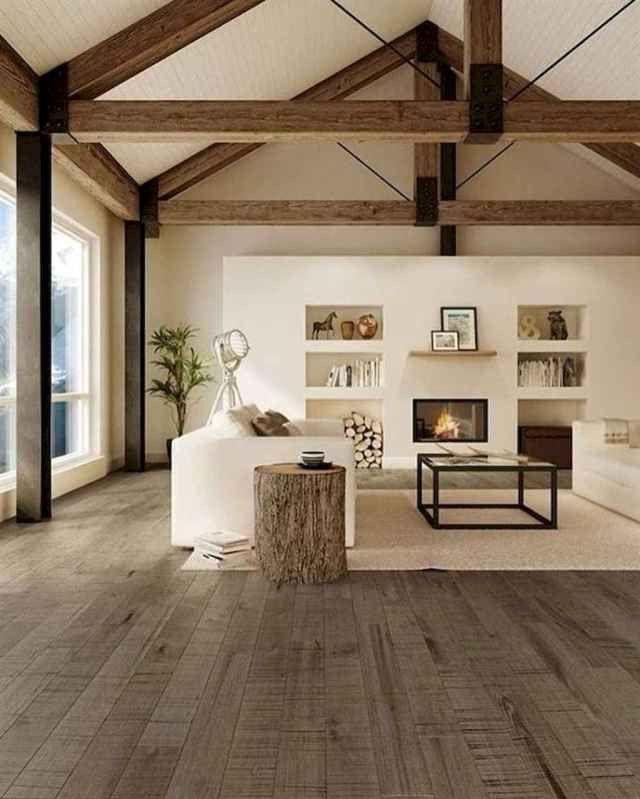 13 Modern Rustic Living Room Remodel Ideas 003 In 2020 Farm House Living Room Modern Farmhouse Living Room Decor Minimalist Living Room Decor