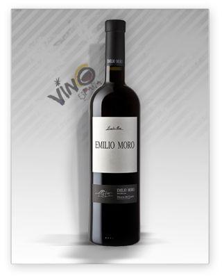 #vino EMILIO MORO CRIANZA es un vino de D.O. Ribera del Duero, elaborado con la varietal Tinta del País 100%, procedentes de viñedos de 15-25 años, Emilio Moro Crianza envejecido en barricas de roble francés y americano durante 12 meses. Un referente del vino de España