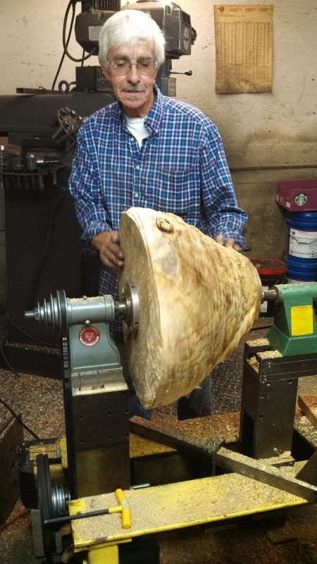 Dave, the Lathe Builder
