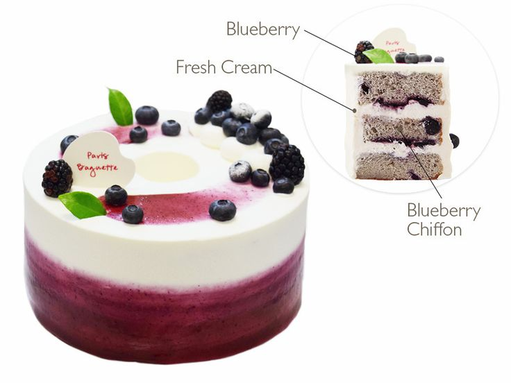 Blueberry Yogurt Cake Paris Baguette