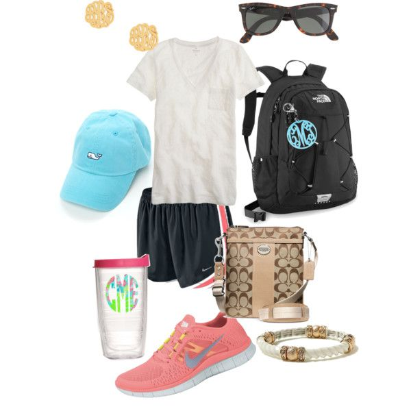 this is seriously going to be me in college. #everyday #nike #tshirt Okay I'm sorry. This is... why put earings on with your nike shorts. Please.