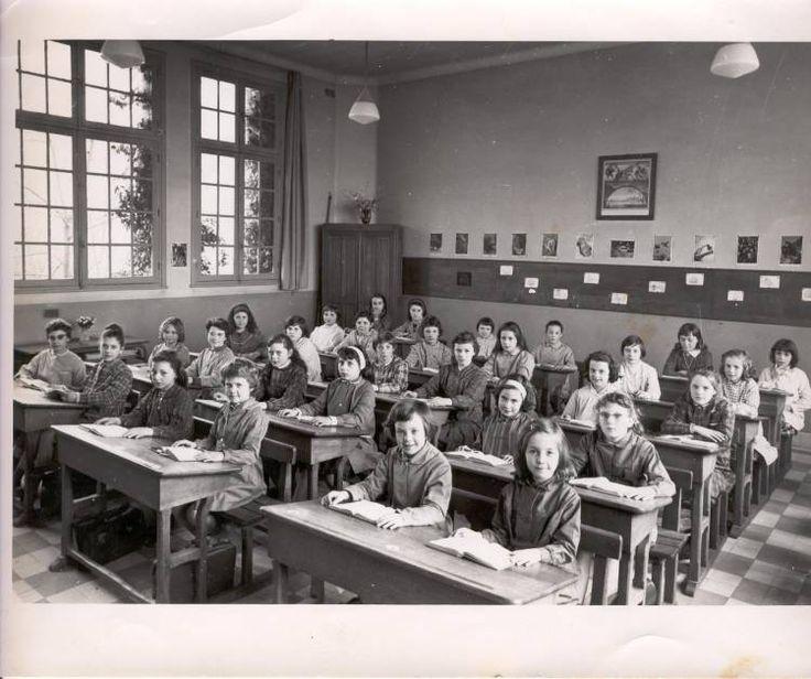 Photo de classe Mme GOUPIL de 1966, Ecole Jules Ferry - Copains d'avant