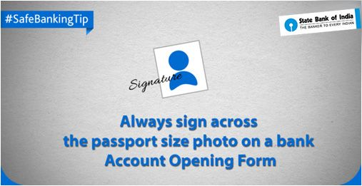 SafeBankingTip While opening a new bank account, it is advisable - bank account forms