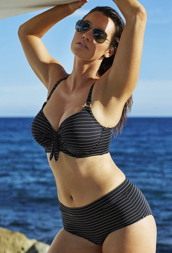 Swim Sexy Glamour Underwire High Waist Bikini