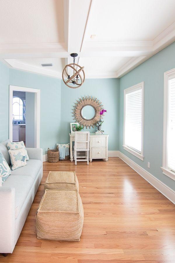 Coastal Colors Cottage Interior Paint Colors Lilypad Paint