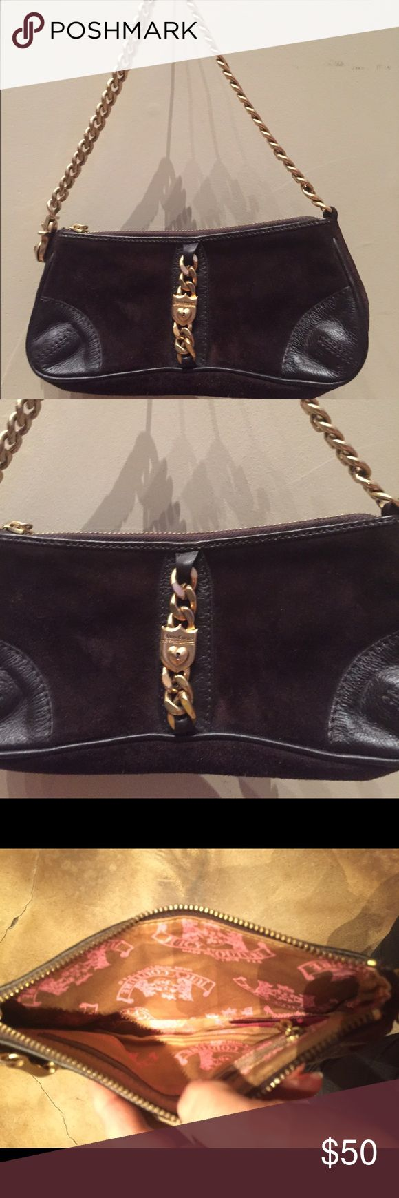 Small Juicy Purse Small Juicy Purse with thick gold chain Juicy Couture Bags
