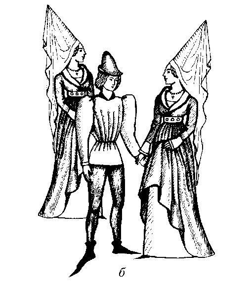 Искуство и костюм готического периода