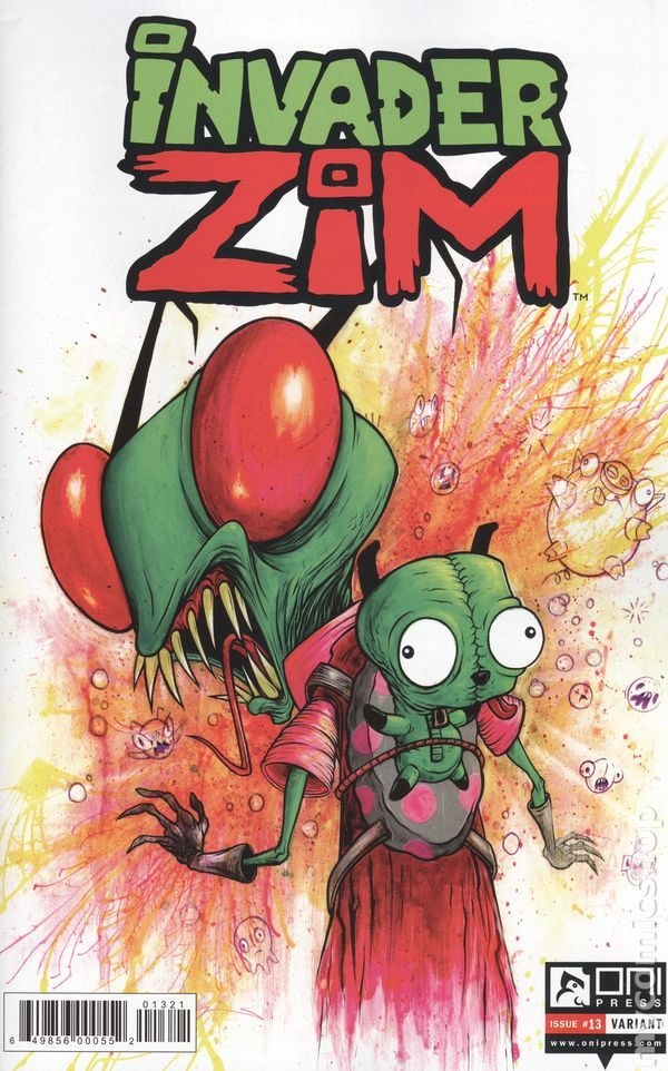 Invader Zim (2015 Oni Press) 13B