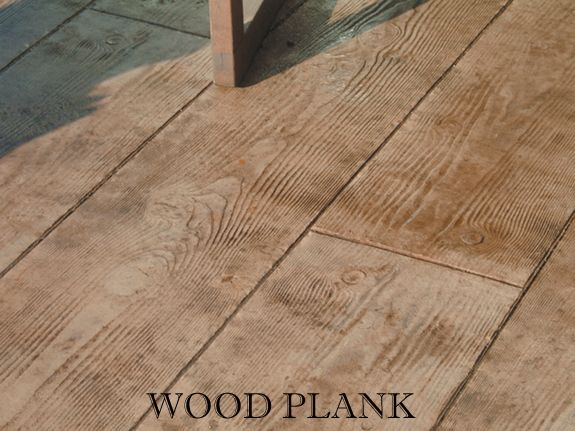 concrete floor that looks like wood planks patio project. Black Bedroom Furniture Sets. Home Design Ideas