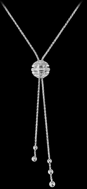 White gold Diamond Pendant - Piaget Luxury Jewellery G33P0068