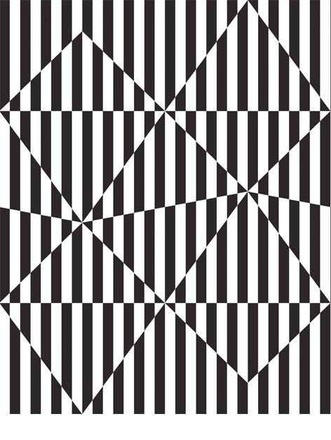 Diamond Stripes - Black, from Australian studio The March Collective