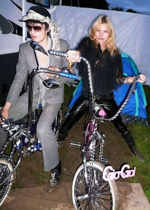Pete Doherty and Kate Moss, Glastonbury Festival 2007