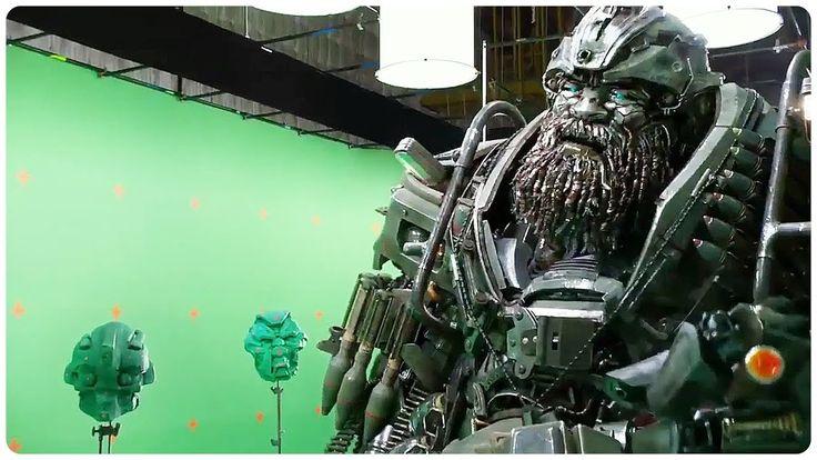 "Transformers 5 ""Hound vs Lennox"" Funny Movie Clip + Trailer (2017) - Tra..."