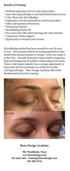 """INTRODUCTION TO MICROBLADING AND PRACTICE KIT $199   Do you want to learn Eyebrow Microblading? Do you know if you have the skills to learn? It is a large investment to attend Qualified & Reputable Courses Before Investing large amount of money for a training course and possible traveling expenses, learn and practice with a minimal investment with the """"INTRODUCTION TO MICROBLADING AND PRACTICE KIT""""  KIT INCLUDES:  5 Pens with attached Microblading Needles One bottle of Practice Pigm..."""