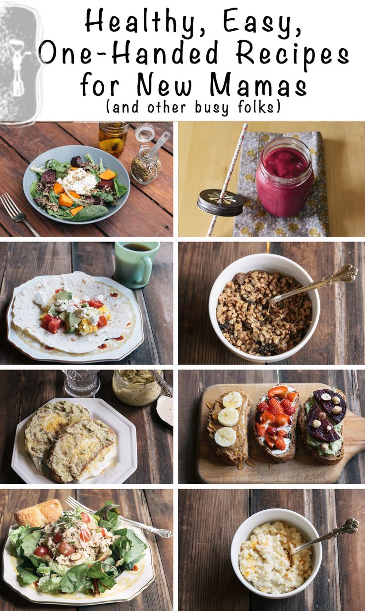 Healthy, Easy, One-Handed Recipes for New Mamas (and other busy folks): Healthy Pregnancy Food Recipes, Healthy Meals, Healthy Recipes For New Mom, Easy Pregnancy Recipes, Easy Healthy Tuna Recipes, Easy Recipes, Easy One Hands, One Hands Recipes, Recipes Cooking