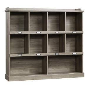 SAUDER, Barrister Lane Collection 3-Shelf Horizontal Bookcase in Salt Oak, 414726 at The Home Depot - Mobile