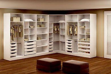 Um Closet para chamar de seu: Dicas de um closet planejado