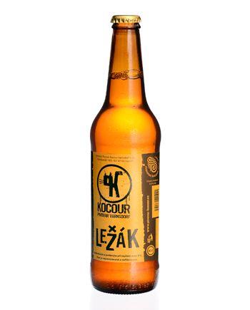 Pivo Kocour Ležák