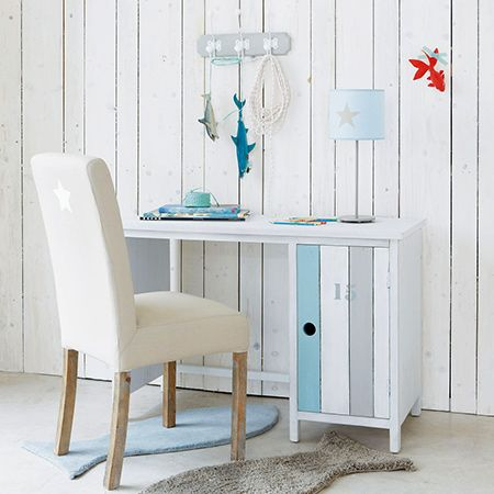 Children need a place to study and do their homework and this coastal style desk can be made in any size for a bedroom large or small. You can buy a variety of pine products at your local Builders, or shop online for reclaimed wood.