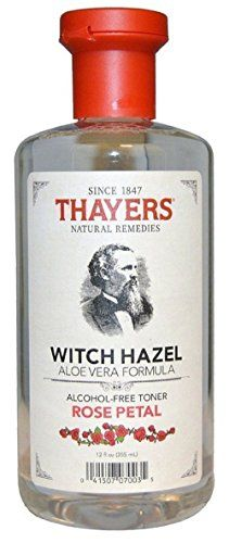 Cheap Thayers Alcohol-free Rose Petal Witch Hazel with Aloe Vera, 12 oz