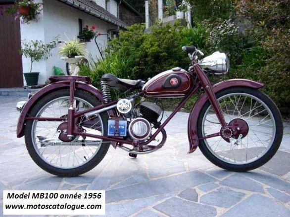 1956 Adler MB100