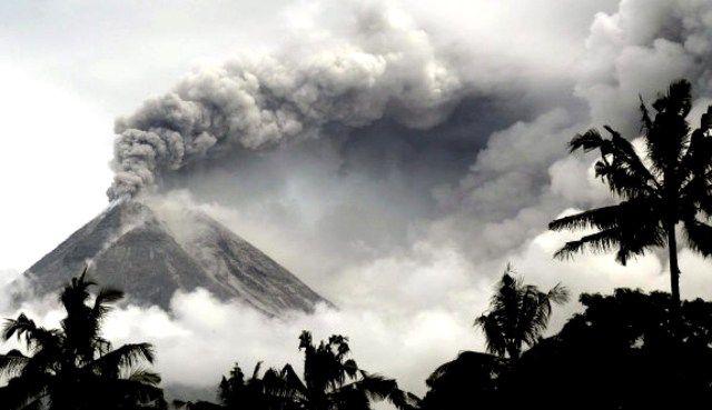 Monte Merapi 2013