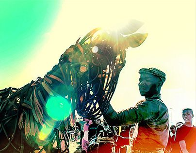 """Check out new work on my @Behance portfolio: """"WAR HORSE revisted"""" http://on.be.net/1JP4Ntw"""