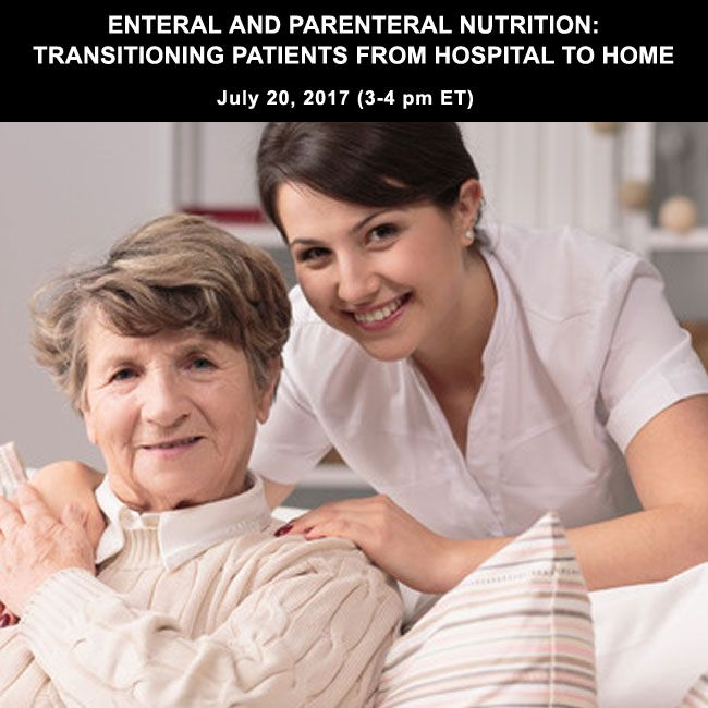 This course will cover the essential things you need to know regarding the inpatient preparation for patients to discharge home on nutrition support as well as common challenges and strategies to support your patients while they are at home. Topics covered include applications for nutrition support, differences in inpatient and outpatient management, risks and benefits of both enteral and parenteral nutrition support, and strategies for management of these patients at home.