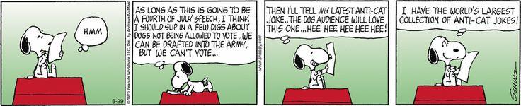 Peanuts by Charles Schulz for Jun 29, 2017 | Read Comic Strips at GoComics.com