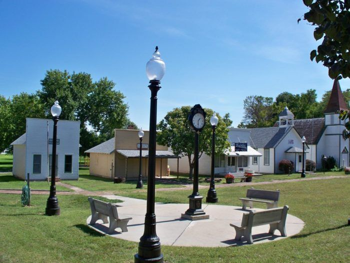 The Howard County Historical Society's Historical Village is located on Sixth Street in St. Paul. It consists of six restored vintage buildings from St. Paul and surrounding areas.