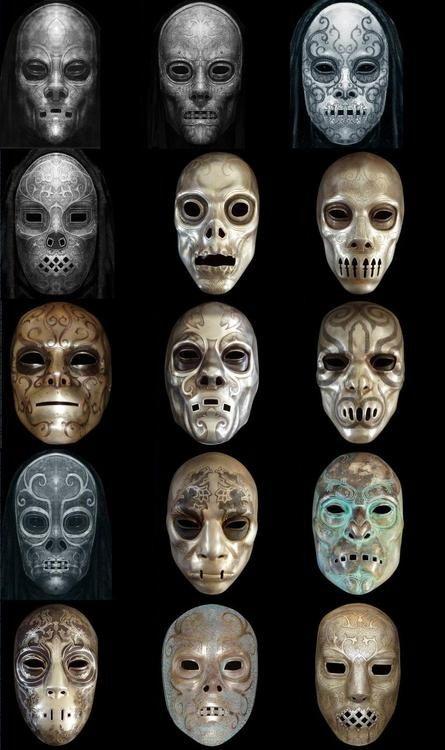 DIY Harry Potter Death Eater Mask