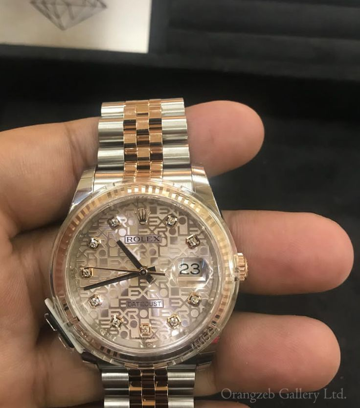Rolex Datejust 36mm Two Tone 18k Rose Gold & Steel Silver Jubilee Diamond 116231 ladies watch. Stunning watch sold now. Double tap if you like. Amazing and most demanded part of our collection. For more information you can contact us 📧info@orangzebgallery.com  Or DM📨  We ship world wide. Follow us to see our collection of watches, antiques and jewellery..