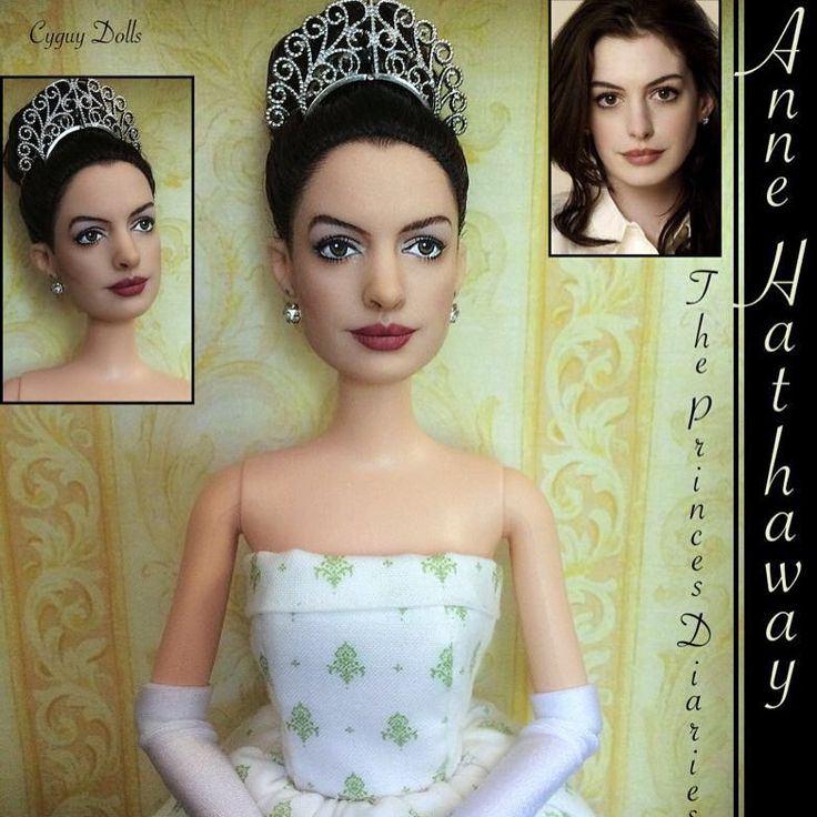 On Ebay NOW! Anne Hathaway Doll As Princess Mia From The