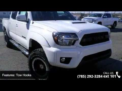 2015 Toyota Tacoma TRD Pro - Lewis Toyota - Topeka, KS 66614  Drive this versatile Tacoma home today... This is the vehicle for you if you're looking to get great gas mileage on your way to work! 4 Wheel Drive!! All Around gem!!! New In Stock..