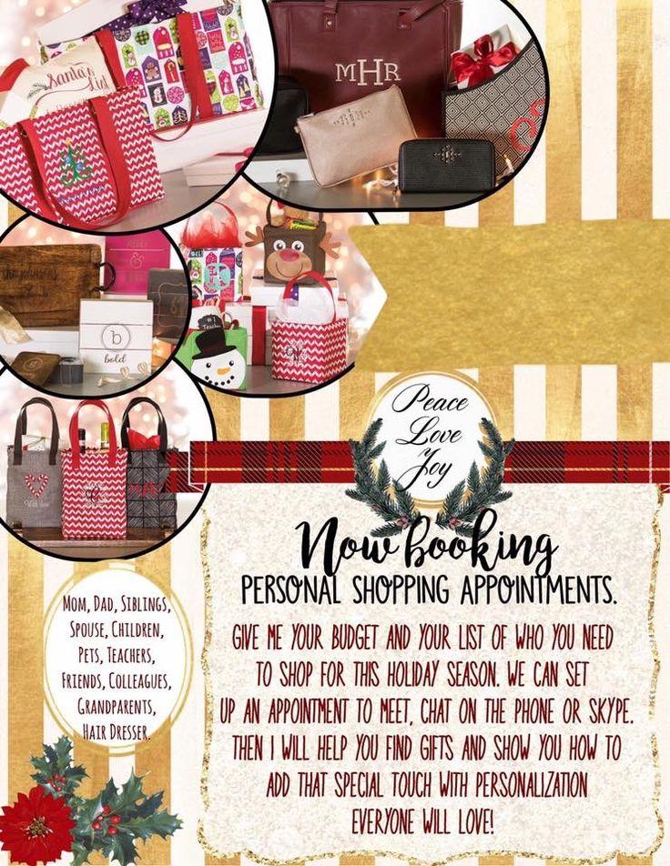 Consider me your Thirty-One personal shopper this Holiday season! www.AnchoredBagsBySarah.com