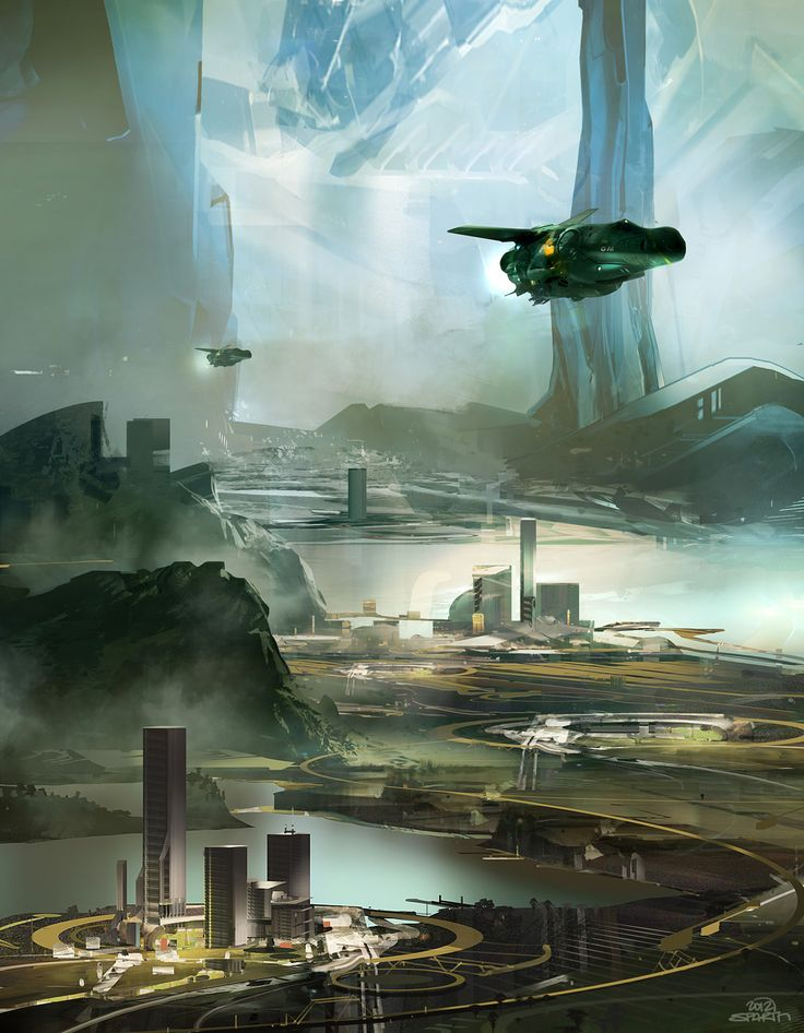 Artwork by Sparth