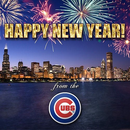 happy new year from the chicago cubs cool sayings pinterest chicago cubs
