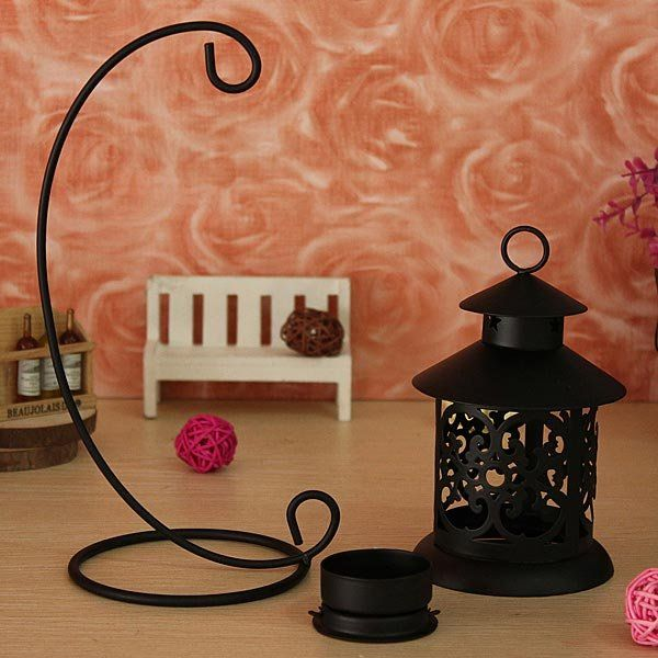 Moroccan Style Iron hollow Candlestick Candles Candleholder Cheap - NewChic