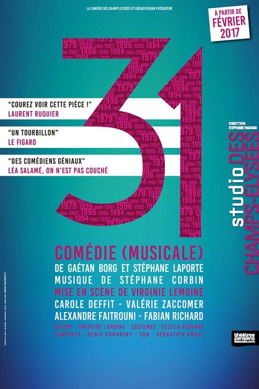 31 : http://www.menagere-trentenaire.fr/2017/05/31/31-comedie-musicale