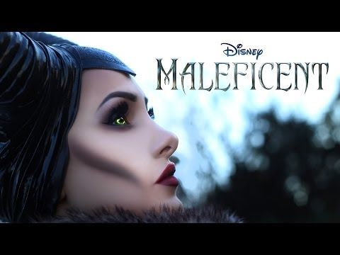 ▶ MALEFICENT Disney - Il make up di Angelina Jolie - YouTube (tutorial is in Italian, and no products are mentioned, but the technique is explained SO clearly…)