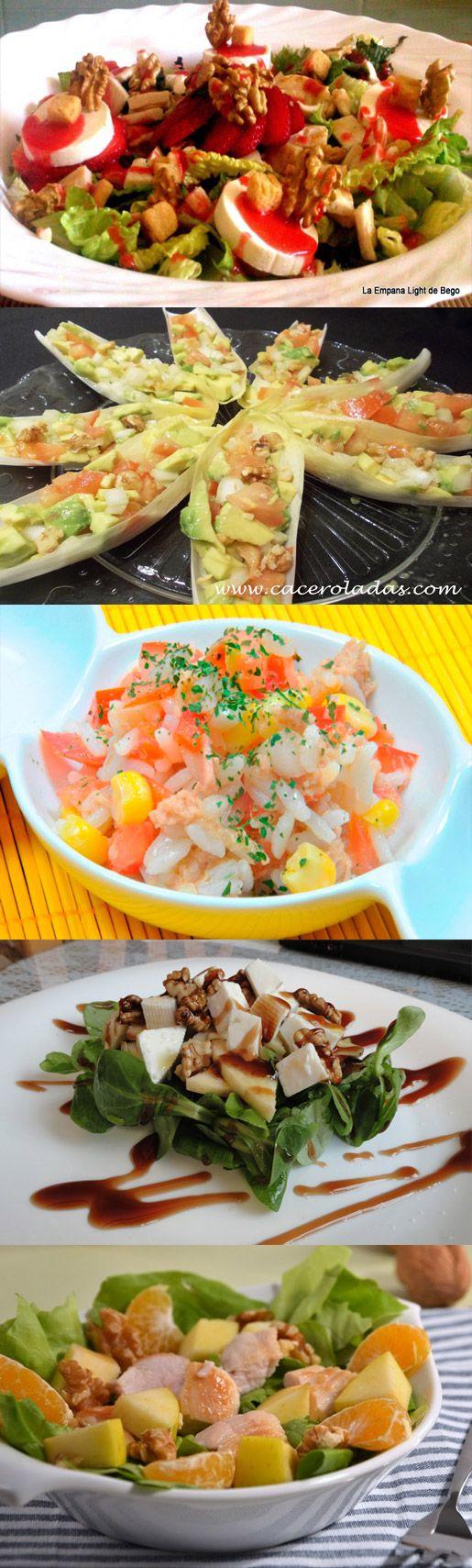 9 Ensaladas Completas como plato único #ensaladas