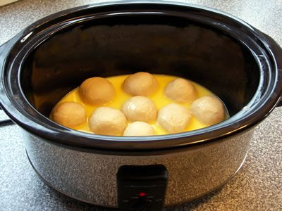 Dampfnudeln Crock Pot