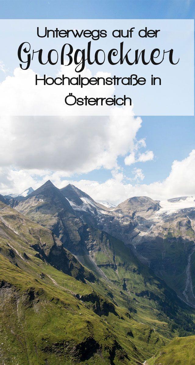 Der Großglockner ist der höchste Berg in Österreich und nicht nur aufgrund dieser Tatsache eine Reise wert. #großglockner #hochalpenstraße #heiligenblut #österreich #alpen
