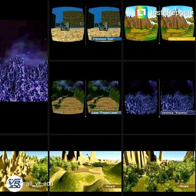 "An awesome Virtual Reality pic! Realidad Virtual Inmersiva para visualizar con unas #googlecardboard. Trabajos realizados por los alumnos.  Curso: ""Creación #VR inmersiva con #Unity3D"" con @all_vr_edu en @conventagusti :) (1era edición). #workshop #virtualreality #RealidadVirtual #learning #maker #igerscatalunya #igerscat #igersbarcelona #igersbcn #MADbcn #MADbarcelona #oculusrift #3D #DIY #learningbydoing #artwork #makerconvent by acanelma check us out: http://bit.ly/1KyLetq"